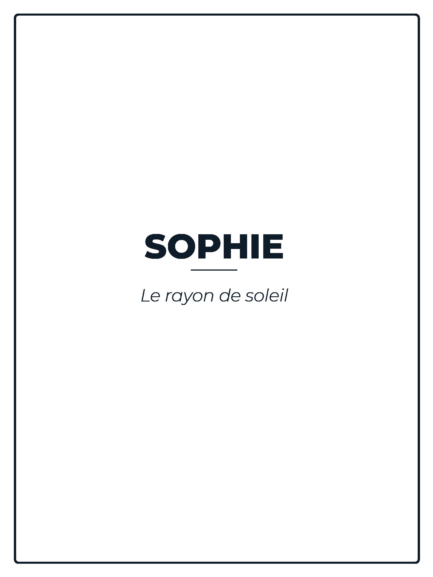 SOPHIE-PARFUM